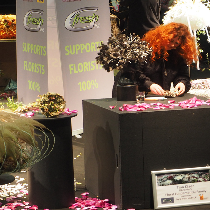 Danish participation in the florist competition